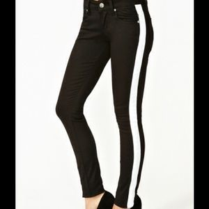 Sold!Nasty gal 0/24. Never worn, Tripp tuxedo pant