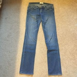 Abercrombie & Fitch blue bootcut jeans