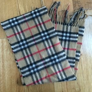 Burberry Accessories - Burberry cashmere mini scarf
