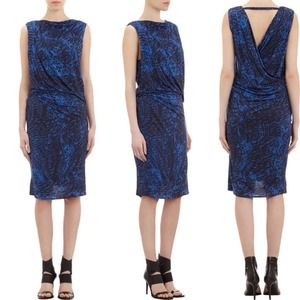 Helmut Lang Dresses & Skirts - ❗️️️SALE❗️NWOT Helmut Lang Draped Open Back Dress
