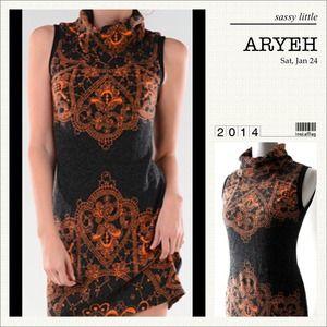 ARYEH Dresses & Skirts - 🌺HP 7/27🌺BEAUTIFUL MOCK TURTLENECK DRESS