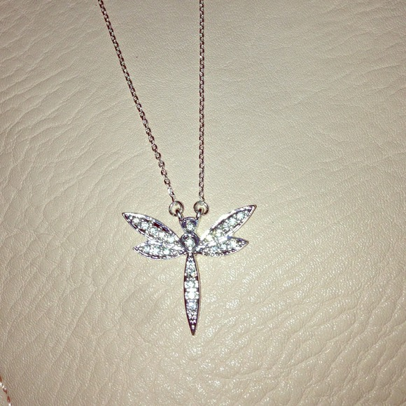 60 off jardin jewelry dragonfly necklace from sammi 39 s for Jardin jewelry