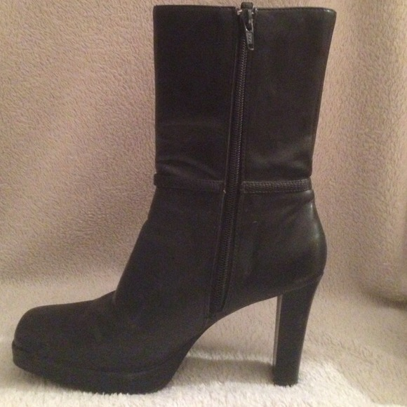 40 skechers shoes high heel black boots from