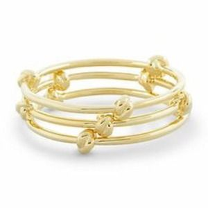 knotted bangle set