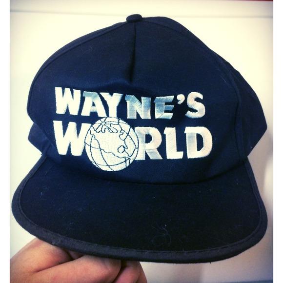 c506ef35ee3e8 Wayne s World SnapBack Baseball Hat. M 54c4689794d5687851152e69