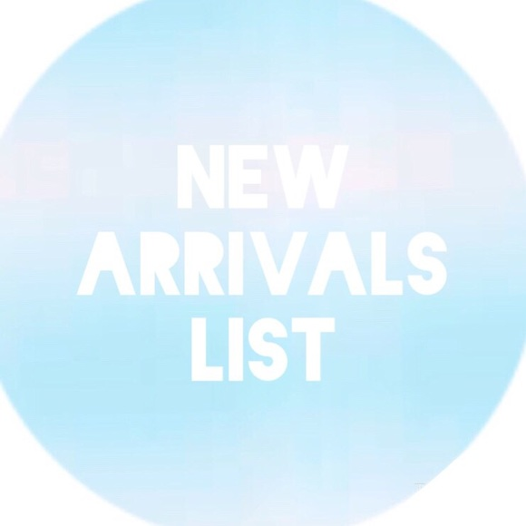 Other - [  .• .• New Arrivals List •. •. ]