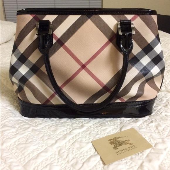 3c53d443bbd Burberry Handbags - Burberry Supernova check print handbag