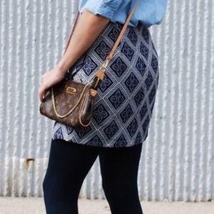 Maude Skirts - Maude brocade skirt.