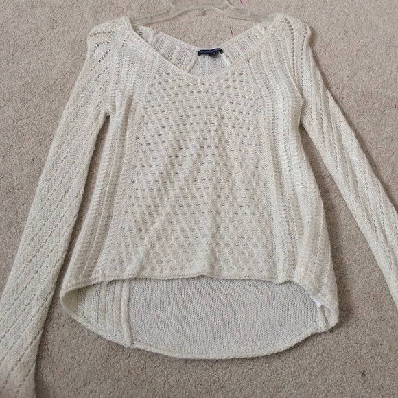 60% off American Eagle Outfitters Sweaters - American eagle knit v neck sweat...