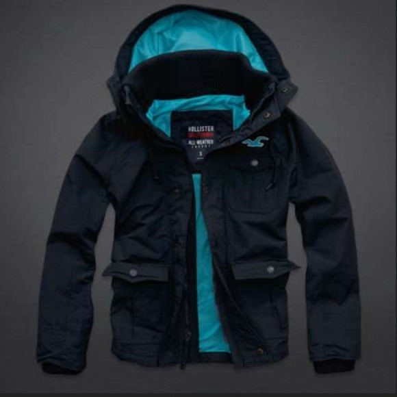 hollister california all weather jacket
