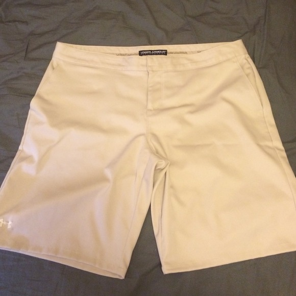 68% off Under Armour Pants - Under Armour khaki Golf shorts from ...