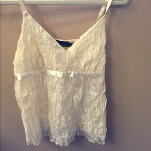 Tops - Lace tank top!