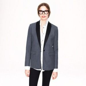 J. Crew Jackets & Blazers - J. Crew Gray Collection Rylan Blazer Size 6