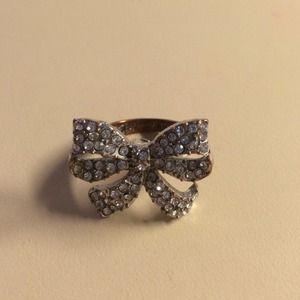 Betsey Johnson jeweled ring