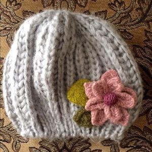 Cute knit hat!
