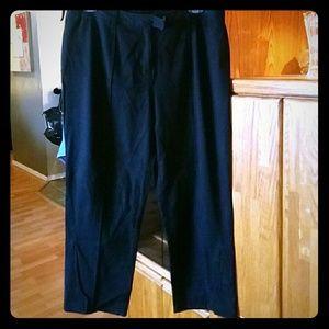 INC black khakis from Macys.