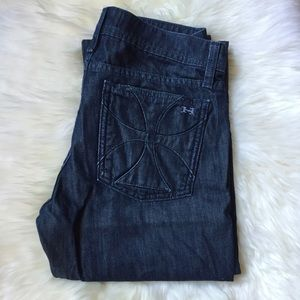 Habitual Straight Leg Dark Denim Jeans