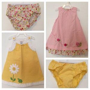 Adorable Gymboree Dresses 18-24 Months