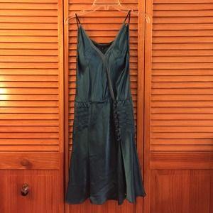Alessandro Dell'Acqua Dresses & Skirts - 100% Silk Blue Evening Dress