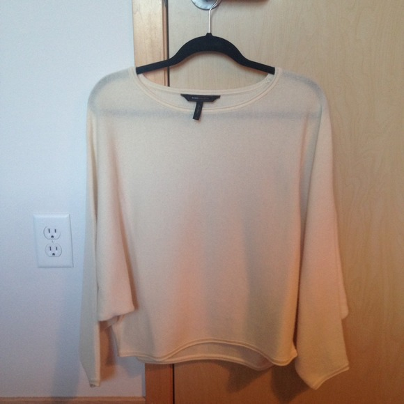 Womens White Cashmere Sweater Off White Cashmere Sweater