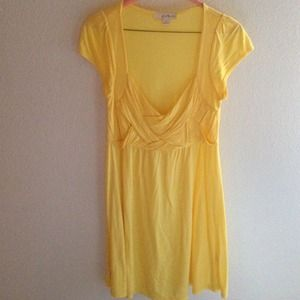 NWOT Forever 21 Yellow Dress or Overshirt - Size S