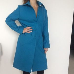 Agatha Ruiz de la PRADA heart blue coat