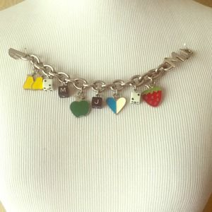 Marc Jacobs Fruit Charm Bracelet