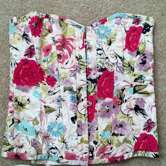 8475d76fea1 Nicole Miller flower corset. M_54c584e892282c055d044d3a