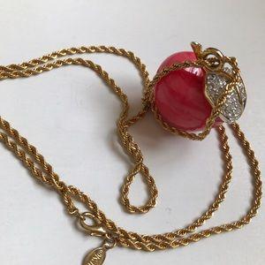 Kenneth Jay Lane Jewelry - ❤SALE! Kenneth Jay Lane Apple Necklace 22k
