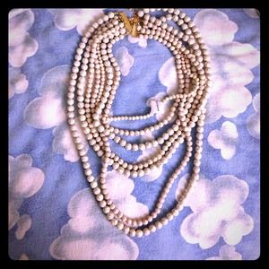Baublebar faux pearl necklace