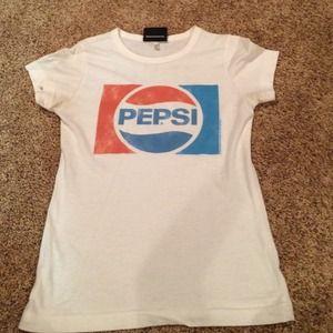 Tops - Pepsi Tshirt, Womens small