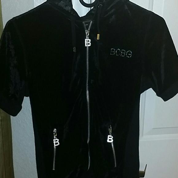 BCBGMaxAzria Jackets & Blazers - BCBGMAXAZRIA SHORT SLEVE HOODIE