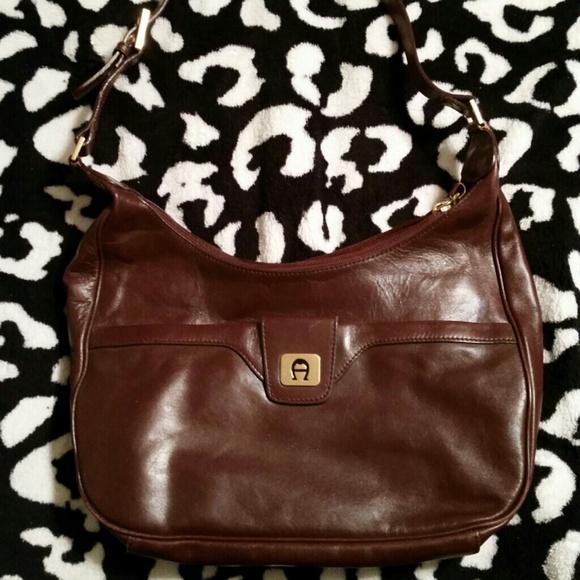 Kostenloser Versand am besten geliebt beste Qualität für Vintage Etienne Aigner Leather Purse