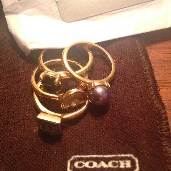 77% off Coach Jewelry