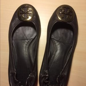 ❤️REDUCED! Tory Burch Dark Brown Reva Flats