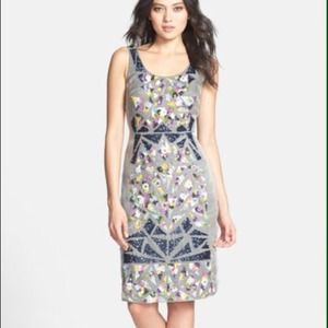 🎉HP!🎉Brand new Nicole Miller silk grey dress 0
