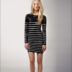 Markus Lupfer Dresses & Skirts - AUTH Markus Lupfer sequin sailor stripped dress sm