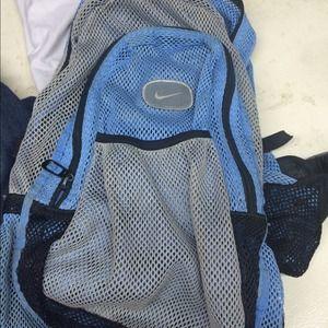 Nike back pack mesh