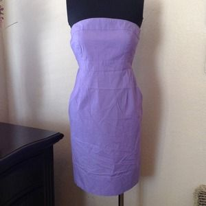 New York & Company Dresses & Skirts - NY&Co. Lavender Strapless Dress