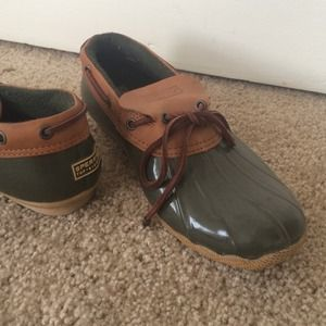 Sperry Top Sider for JCREW duck boots