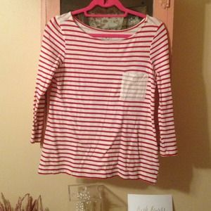 Old Navy Tops - Two toned stripe tee