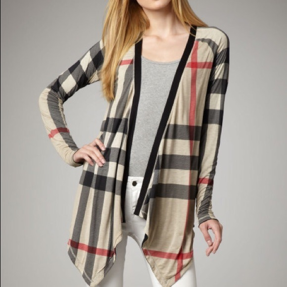 40% off Burberry Sweaters - Burberry Brit reversible waterfall ...