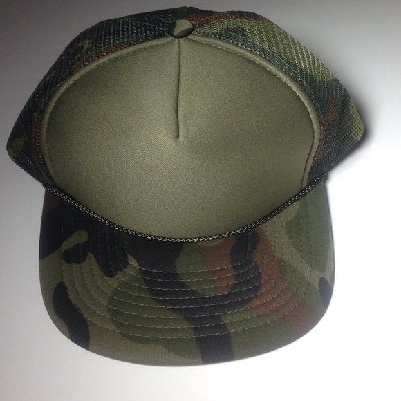 c28f377ee7682 Accessories | Camo Army Fatigue Baseball Trucker Hat | Poshmark