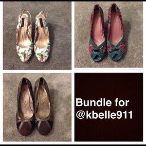 Shoes - Bundle for @kbelle9111