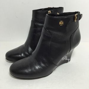 TORY BURCH MILAN WEDGE BOOTIE - 8