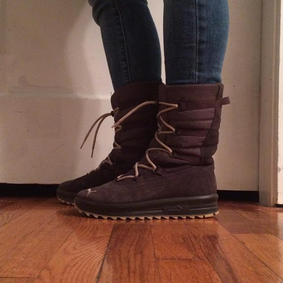 62% off Puma Boots - Puma snow boots from Lani's closet on