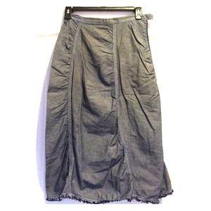 Dresses & Skirts - Blue Midi Skirt