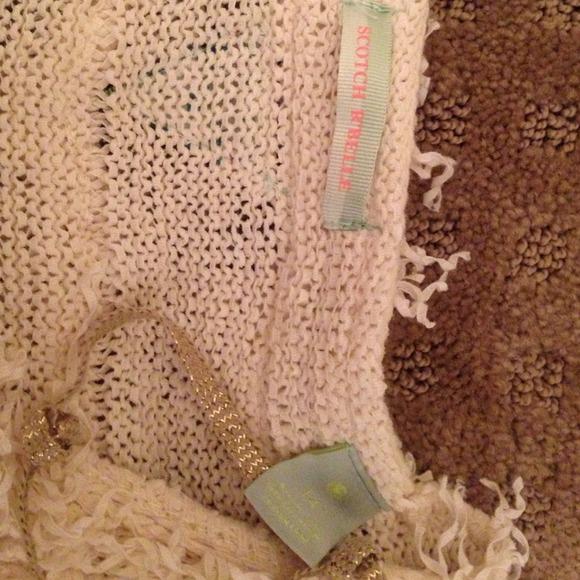 40 off scotch r 39 belle outerwear scotch r 39 belle fringe vest girls. Black Bedroom Furniture Sets. Home Design Ideas