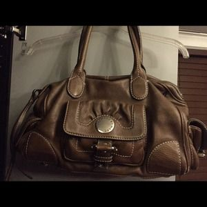 Authentic leather Marc by Marc Jacobs satchel.