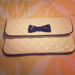 Forever 21 White Clutch